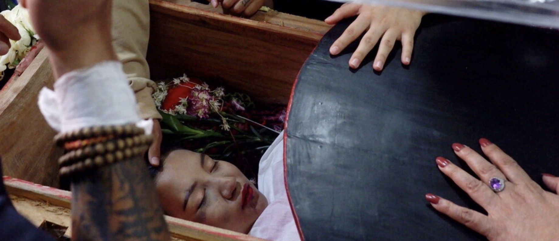 Ma Kyal Sin's funeral